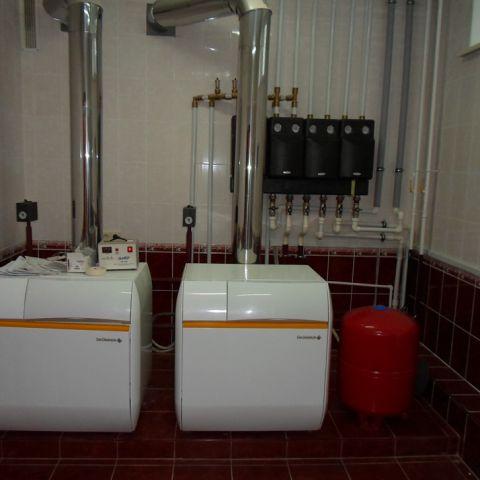 Монтаж отопления на производственно складском комплексе