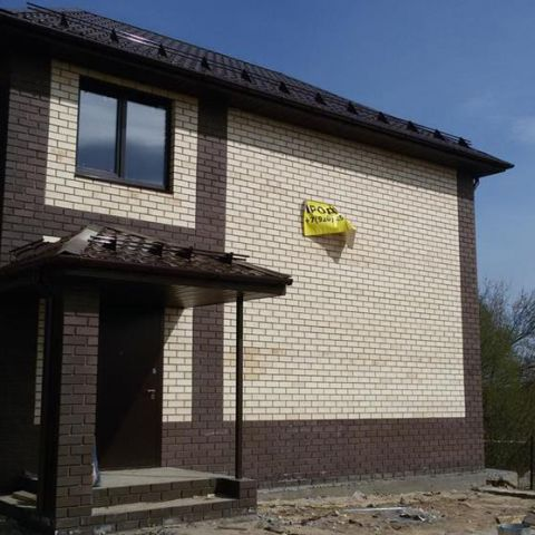 Строительство дома завершено
