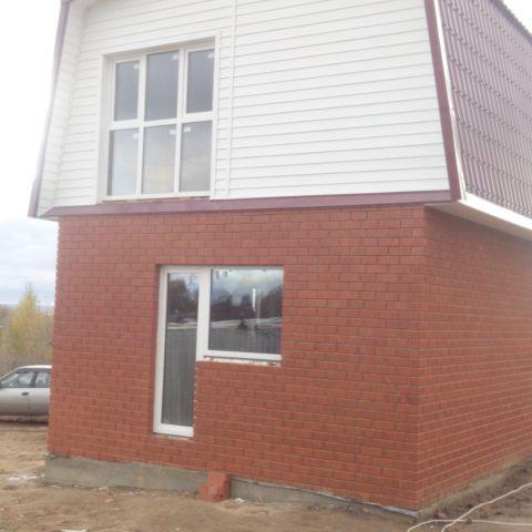 Построен небольшой дом